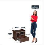 Load image into Gallery viewer, Detec™ Night Stand - Brown Maple Finish