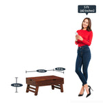 Load image into Gallery viewer, Detec™Solid Wood Portable Table
