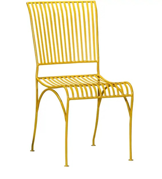 Detec™ Cafe Chair - Yellow Color