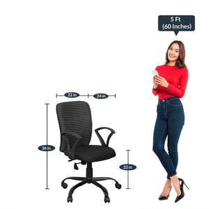 Detec™ Ergonomic Revolving Chair