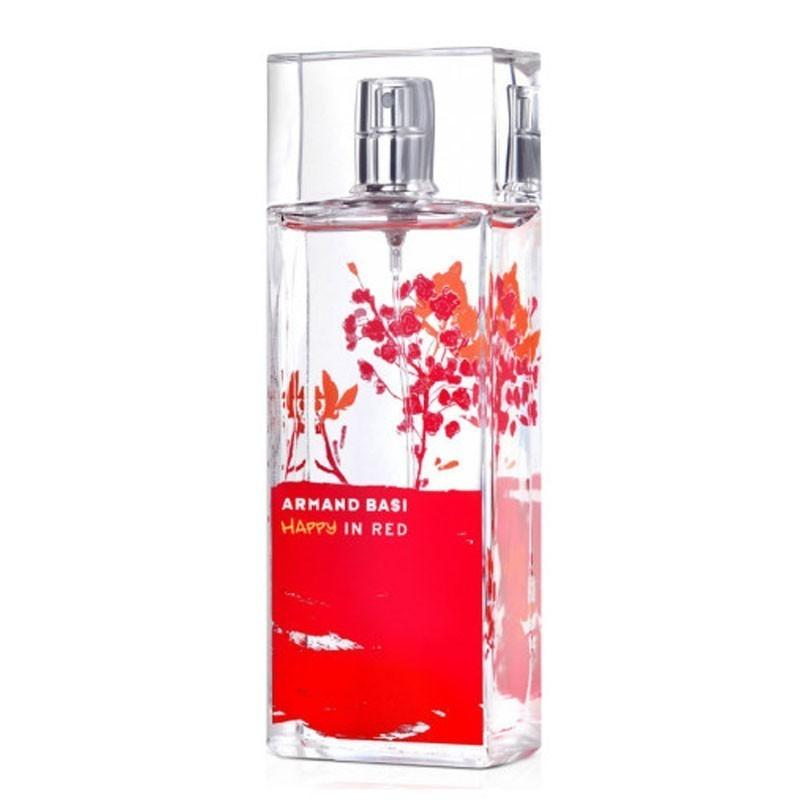 Armand basi happy in red Women edt 50ml - Valool