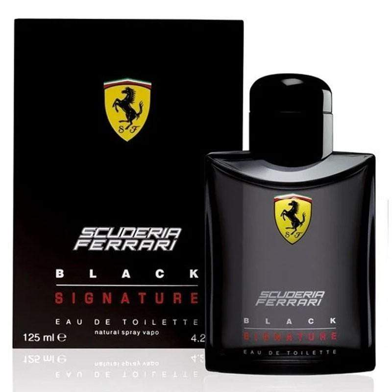 Ferrari scuderia black signature Men edt 125ml - Valool