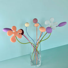 Load image into Gallery viewer, Pastel Wire Flowers