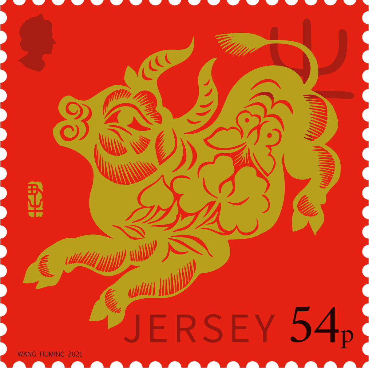 Year of the Ox celebrated on Jersey stamps