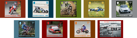 100 Years of the Jersey Motorcycle & Light Car Club - Postcard Set