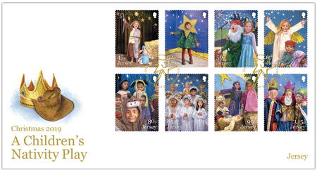 A Children's Nativity Play - Stamps First Day Cover
