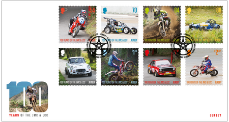 100 Years of the Jersey Motorcycle & Light Car Club - Stamps First Day Cover