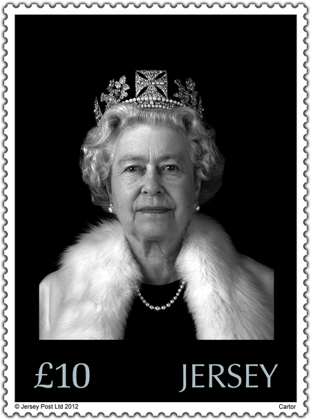 The Queen's Diamond Jubilee - Hologram Stamp
