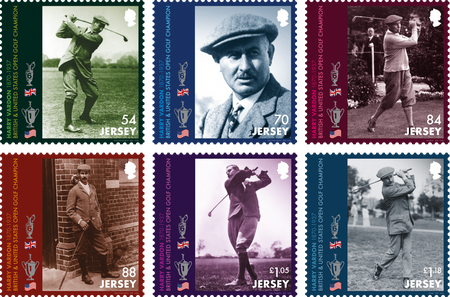 Harry Vardon - 150th Birth Anniversary - Stamp Set