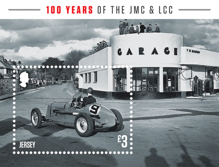 100 Years of the Jersey Motorcycle & Light Car Club - Miniature Sheet