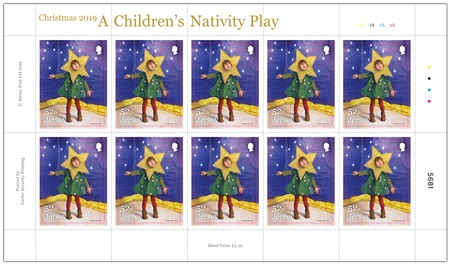 A Children's Nativity Play - 52p Sheet of Ten