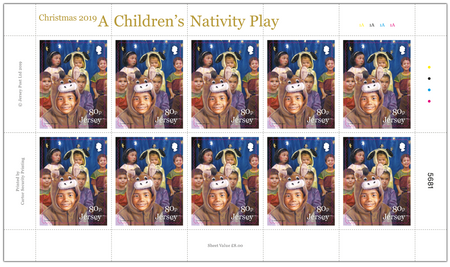 A Children's Nativity Play - 80p Sheet of Ten