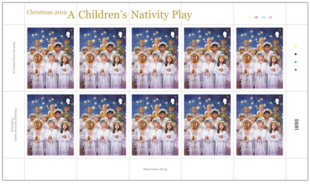 A Children's Nativity Play - 85p Sheet of Ten