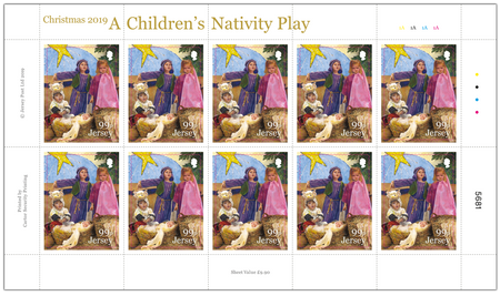 A Children's Nativity Play - 99p Sheet of Ten