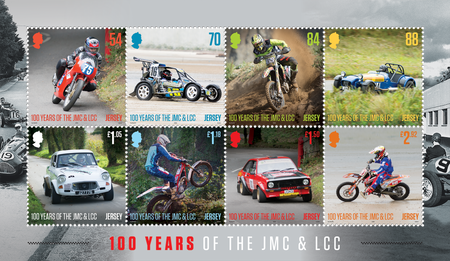 100 Years of the Jersey Motorcycle & Light Car Club - Souvenir Sheetlet