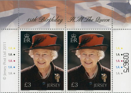 85th Birthday of HM The Queen - Pair