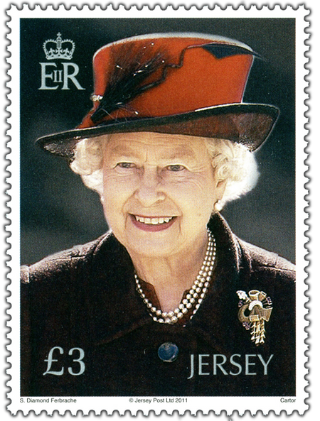 85th Birthday of HM The Queen - Stamp
