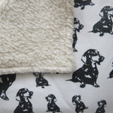 dachshund-print-baby-blanket-gender-neutral-organic-plush