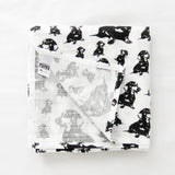 dachshund-print-baby-swaddle-blanket-gender-neutral-organic-muslin
