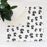 "German Shorthaired Pointer Organic Cotton Baby Lovey 18"" x 18"""
