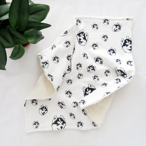 husky-dog-print-baby-shower-gift-baby-lovey