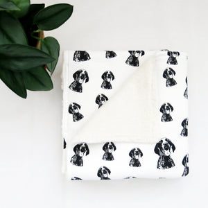 german-shorthaired-pointer-organic-cotton-baby-blanket