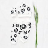 Shetland-sheepdog-baby-shower-gift-hat-mittens-leggings