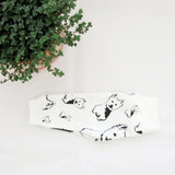 West Highland Terrier Print Organic Cotton Baby Leggings