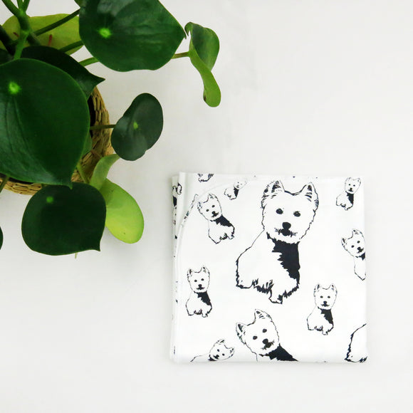 west-highland-terrier-baby-swaddle-blanket