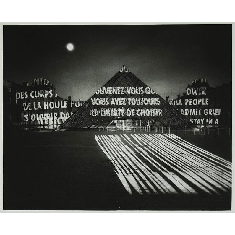 'Freedom of Choice' Etching by Jenny Holzer