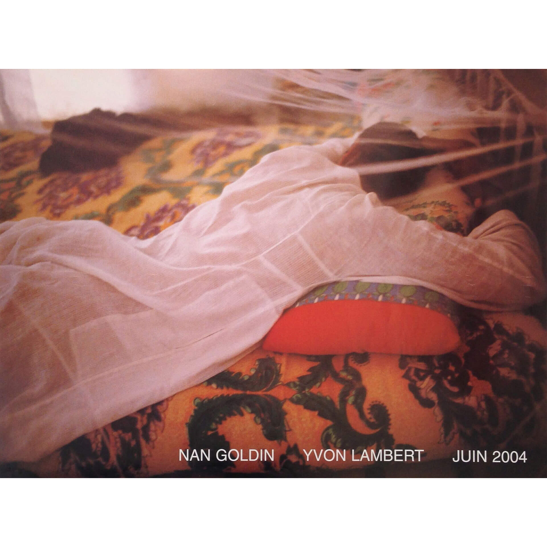 Nan Goldin Exhibition Poster 2004