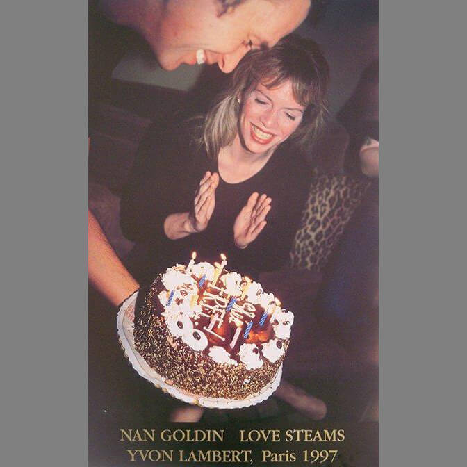 Nan Goldin Love Streams Exhibition Poster, 1997