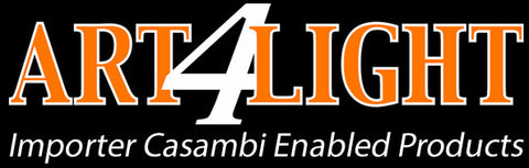 Art4Light, Importer and distributer Casambi Enabled Products