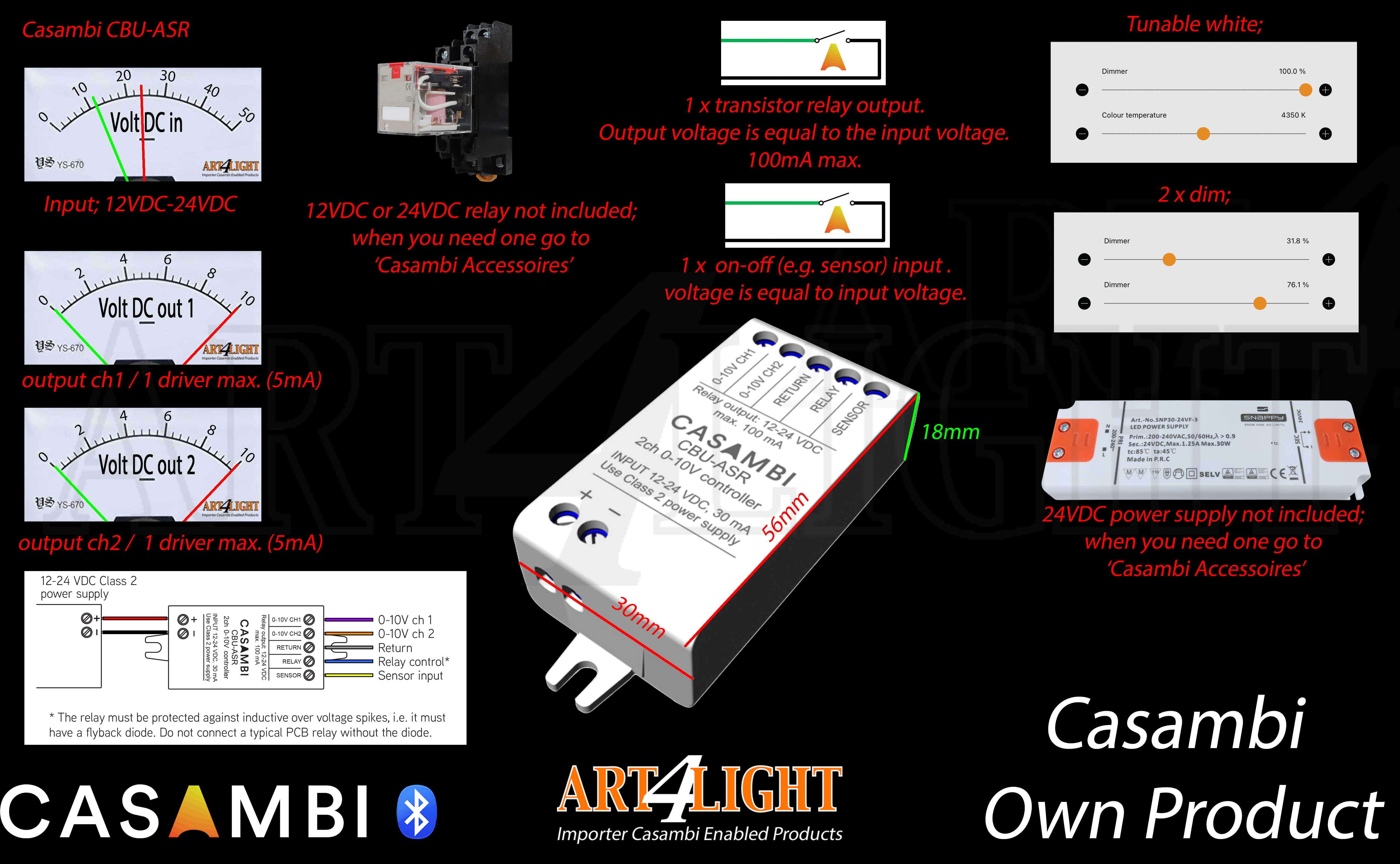OVERVIEW OF CONFIGURATION  CASAMBI CBU-ASR