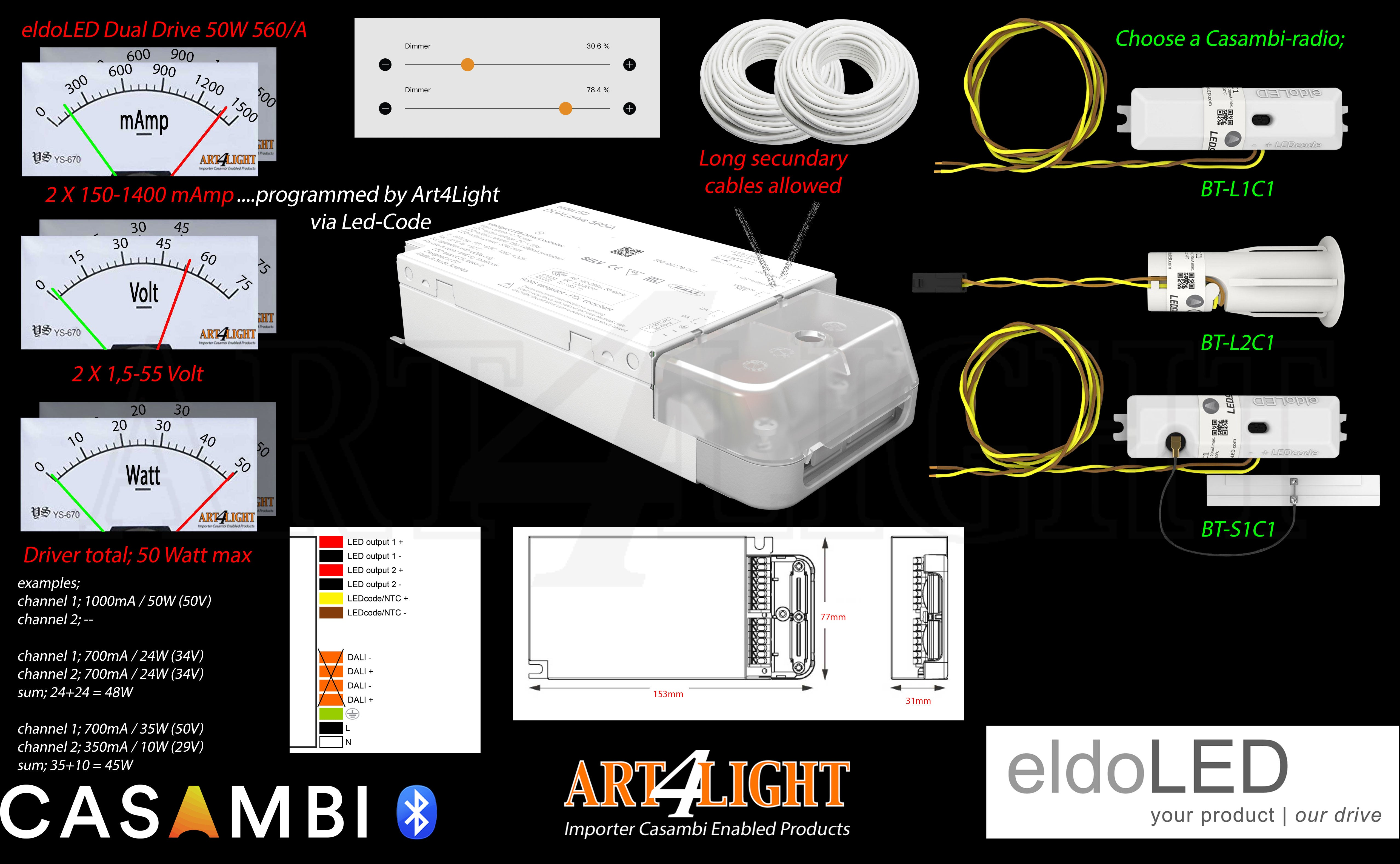 OVERVIEW OF CONFIGURATION  ELDOLED_DUALDRIVE_50W_CASAMBI