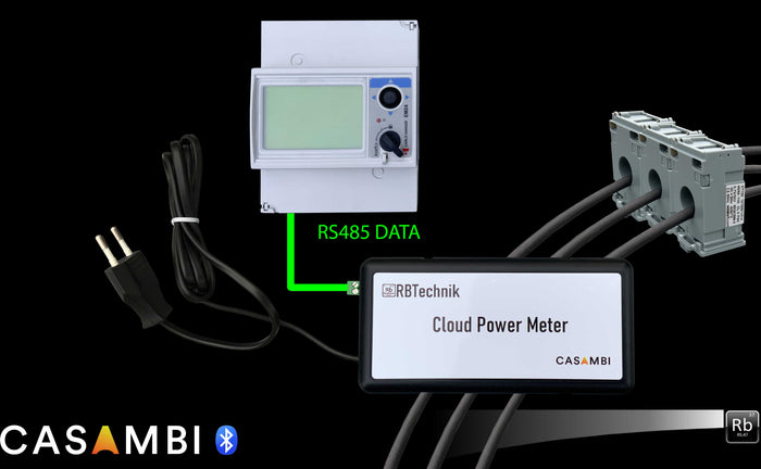 RB Technik Cloud Power meter 3ph Transformer