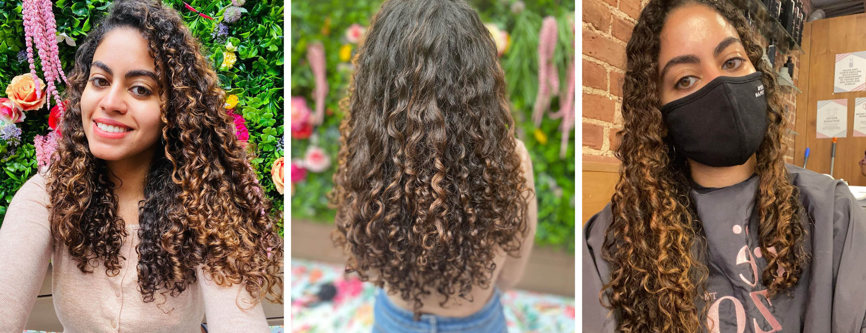 How to Keep color treated curls healthy this winter
