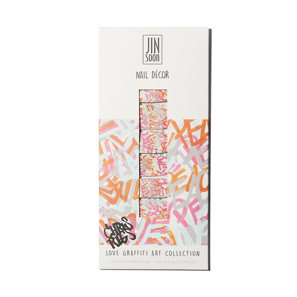 Love Graffiti Art Collection Nail Décor