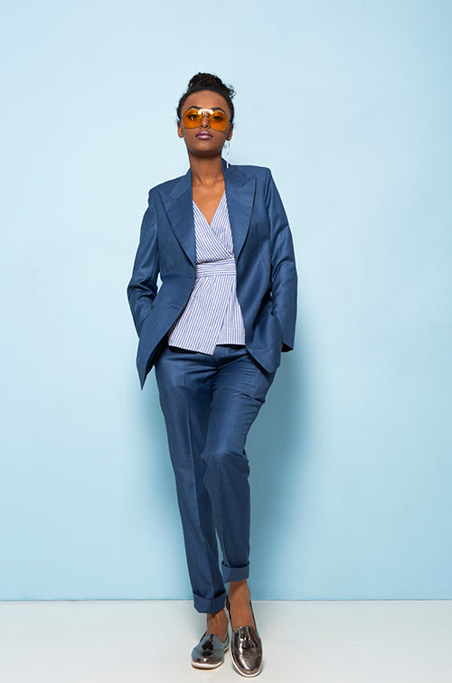 The Elegant Blue - Trouser