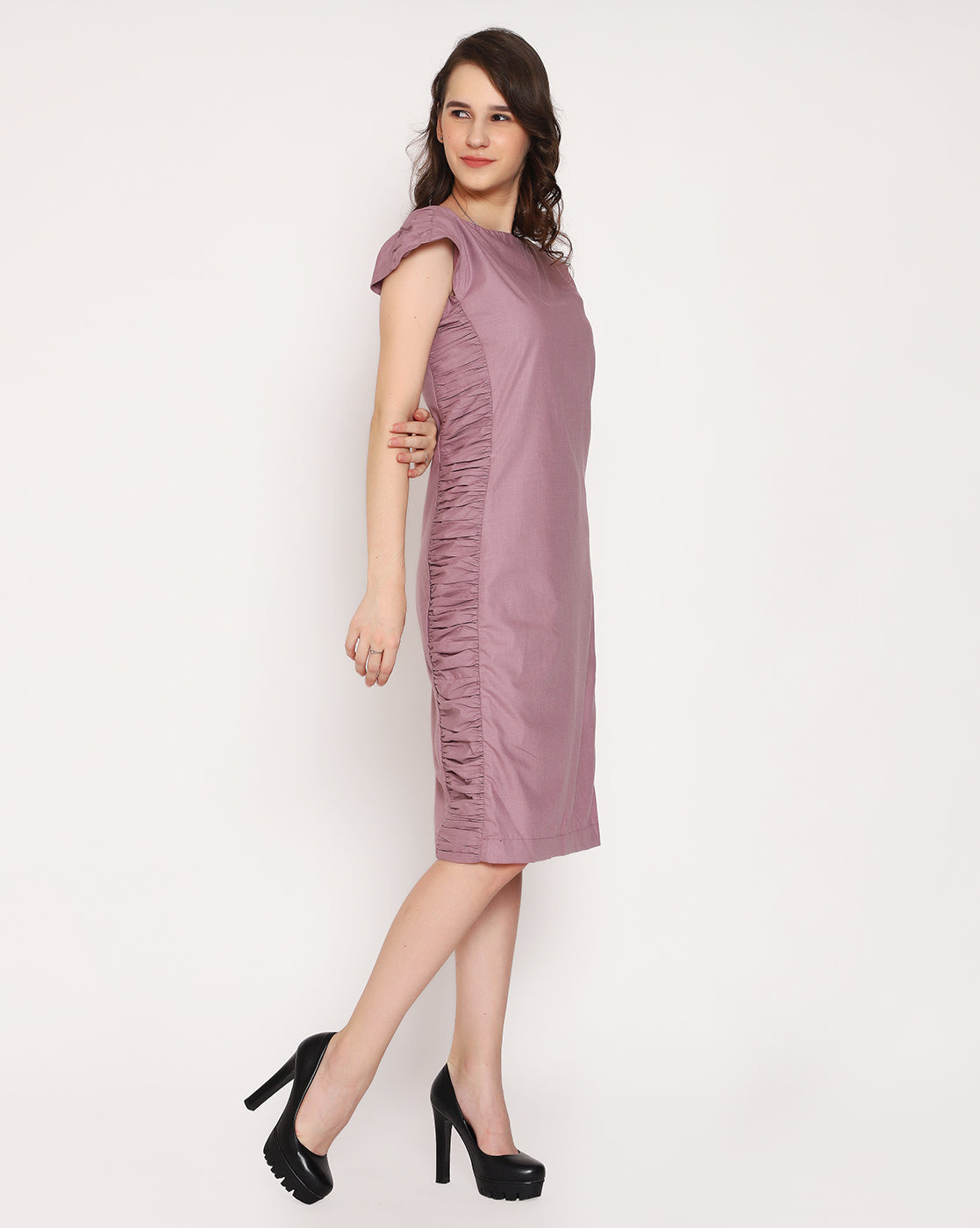 The Beth Dress - Paris Mauve