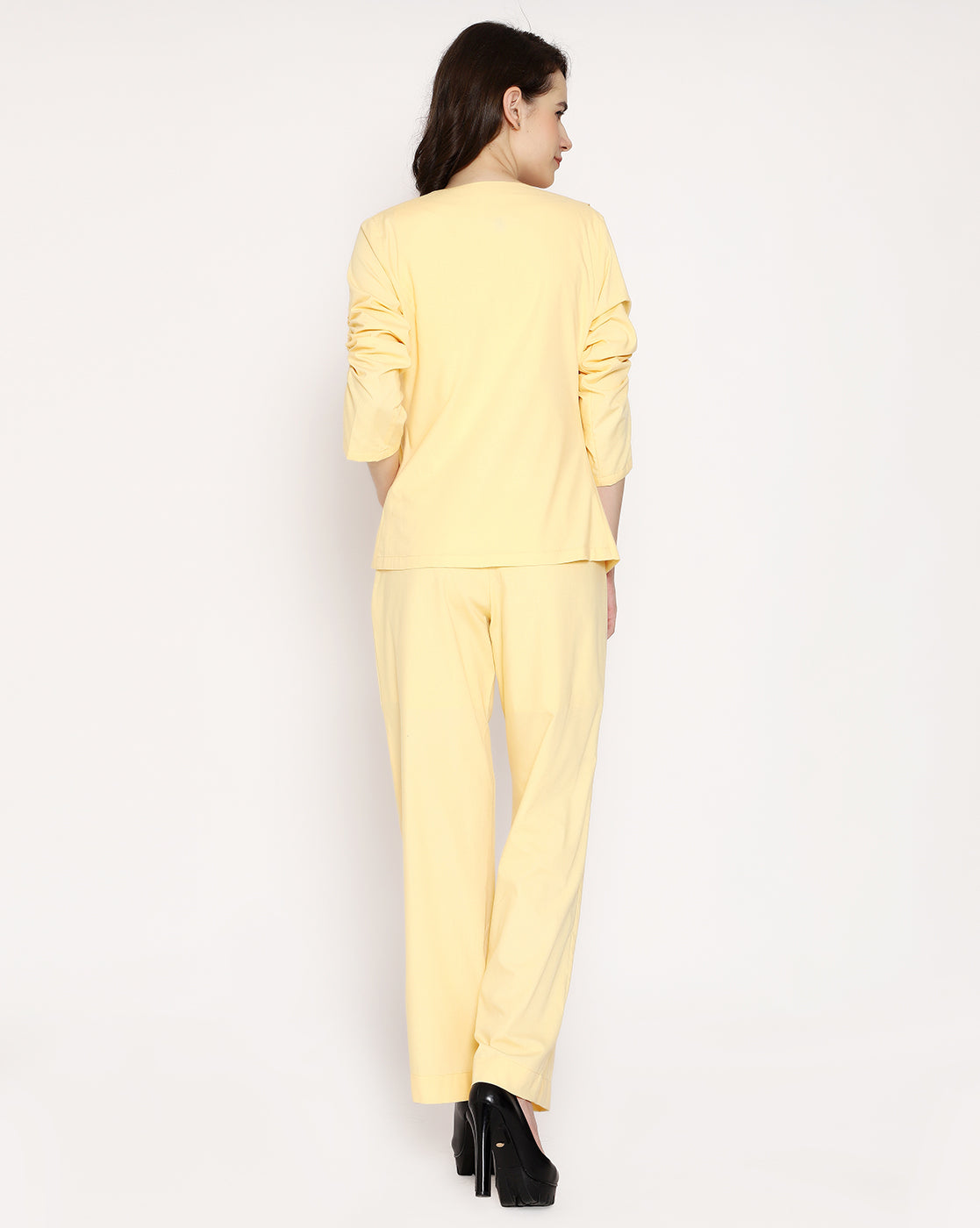 The French Trouser - Buttercup Yellow