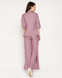 The Vallentino Shrug - Paris Mauve