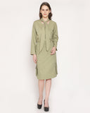 The Zing of Paris Shirt - Olive Green