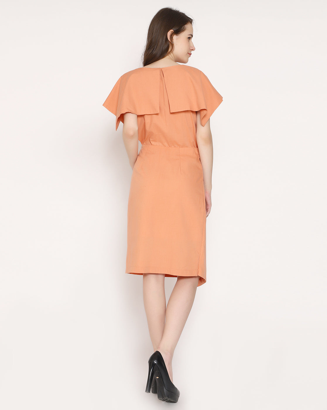 The A la Mode Shirt - Coral Orange