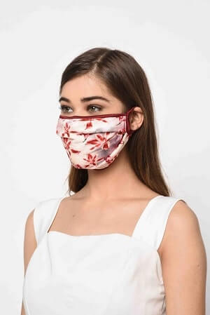 Lily Printed mask