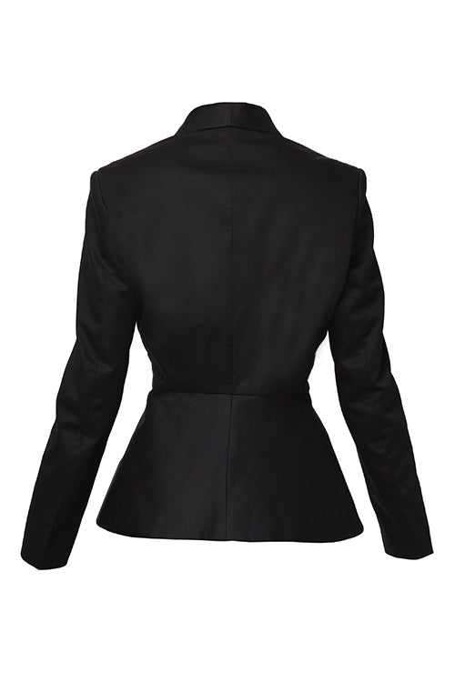 Killing Eve - Black Peplum Blazer