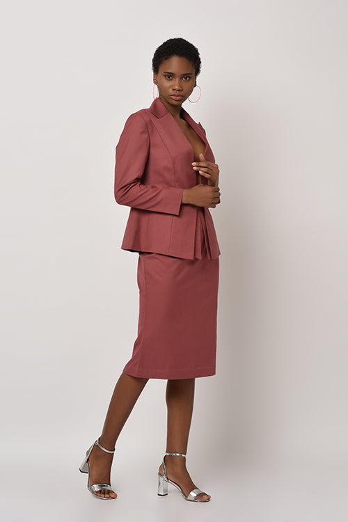 The Rosette Collection - Pencil Skirt