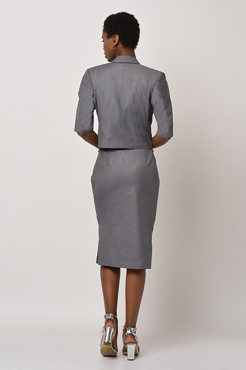 Shades of Grey - Pencil Skirt