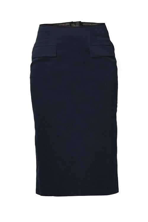 The Imperial Blue Luxury Collection - Pencil Skirt