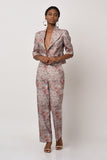 The Premium Quintessential collection - Raw silk Cropped Blazer